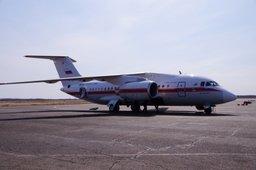 Самолёт МЧС России протестировал взлетно-посадочную полосу аэродрома в Ростове-на-Дону