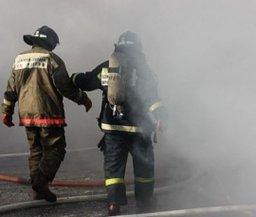 Менее 10 минут потребовалось огнеборцам для ликвидации загорания в Комсомольске