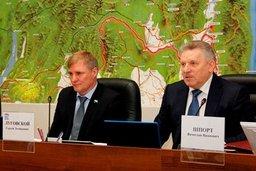 Губернатор Хабаровского края принял участие в заседании регионального парламента