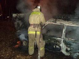Пожарные подразделения города Хабаровск привлекались на тушение легковых автомобилей