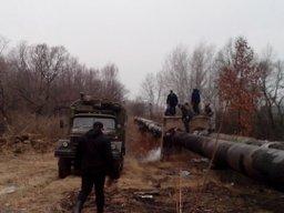 В Хабаровске проводятся работы по устранению порыва горячего водоснабжения