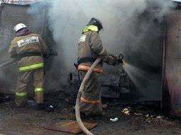 Пожар в гараже в Амурске ликвидировал один пожарный расчет