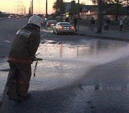 Хабаровские пожарные принимали участие в ликвидации последствий ДТП по улице Радищева