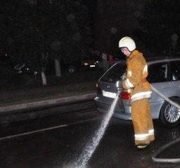 Пожарные привлекались в ликвидации разлива топлива, произошедшего в результате ДТП на улице Запарина