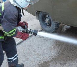Пожарный расчет ликвидировал последствия ДТП на улице Юности
