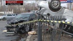 ДТП со смертельным исходом случилось в Индустриальном районе Хабаровска