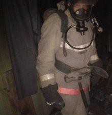 Амурские пожарные привлекались к тушению пожара по проспекту Октябрьскому
