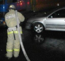 Пожарные привлекались к ликвидации последствий ДТП в Хабаровске на улице Малиновского