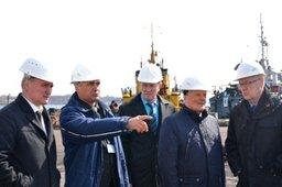 Депутаты Законодательной Думы Хабаровского края изучили проблемы «Ванинского морского торгового порта»