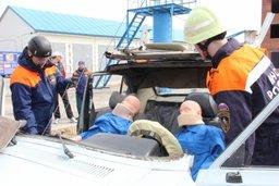 В Хабаровске прошли региональные соревнования среди пожарно-спасательных подразделений по ликвидации дорожно-транспортных происшествий