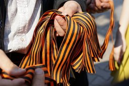 Георгиевские ленточки будут раздавать с 6 по 9 мая