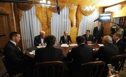 Президент России провел встречу с резидентами амурских ТОР
