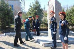 В Хабаровске прошел митинг, посвященный памяти Дню Памяти сотрудников МЧС России, погибших при исполнении служебного долга