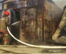 Комсомольские пожарные выезжали на тушения загорания в частном гараже в посёлке Таёжном