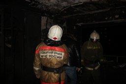 Добровольные пожарные ликвидировали пожар в с.Найба Булунского района