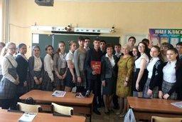 Депутаты провели уроки парламентаризма в школах