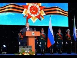 Краевое торжественное собрание, посвященное 71-й годовщине Победы в Великой Отечественной войне 1941-1945 гг