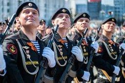 В Хабаровске прошёл военный парад, посвящённый 71-й годовщине Победы