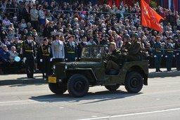 В Параде Победы в Хабаровске участвовало свыше 1 600 военнослужащих и 87 единиц военной техники, а так же 18 ретро-автомобилей