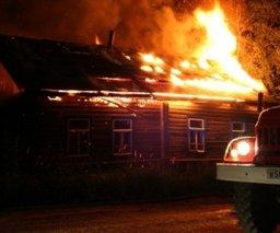 Частный дом на улице Фаломеева тушили три пожарных расчета
