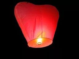 А так ли безопасен небесный огненный фонарик?