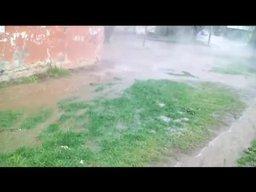 Потоп горячей воды на Руднева
