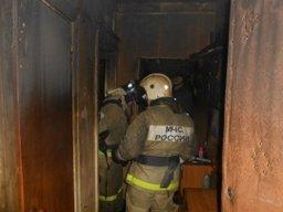Загорание домашних вещей в квартире в жилом доме по переулку Иртышскому ликвидировали пожарные