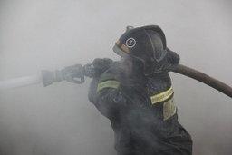 Огнеборцы ликвидировали пожар в п. Гурское Комсомольского района