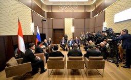 Президент России Владимир Путин пригласил индонезийских партнеров на Восточный экономический форум