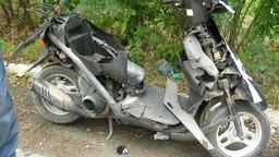 Мопед, один из самых опасных видов транспорта