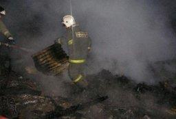 Частный дом тушили огнеборцы в населенном пункте Петропавловка Хабаровского муниципального района