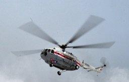 Вертолет Ми-8 вылетел в Смирныховский район