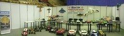 Выставка радиоупровляемые моделей в легкоатлетическом манеже с 26 по 29