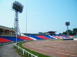 В Хабаровске увеличили вместимость стадиона имени Ленина