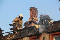 Огнеборцы ликвидировали открытое горение на улице Окружной в Хабаровске