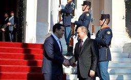 Президент России Владимир Путин пригласил греческих партнеров на Восточный экономический форум