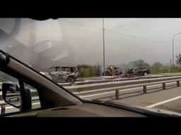 Страшная авария недалеко от поворота на Соловей-Ключ, сразу за кафе Минуткой в сторону Уссурийска