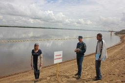 Инспекторы ГИМС освидетельствуют места массового отдыха людей у воды
