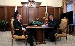 Губернаторы Приморья и Амурской области доложили Владимиру Путину об успехах своих регионов