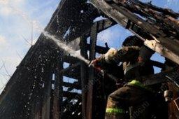 Огнеборцы ликвидировали пожар в частном доме в поселке Хор района имени Лазо