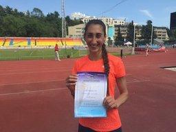 Хабаровчанка Екатерина Конева победила на чемпионате в Сочи