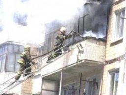 Загорание на балконе многоквартирного жилого дома по улице Лазо ликвидировали комсомольские огнеборцы
