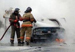 Менее 20 минут потребовалось амурским пожарным для ликвидации загорания легкового автомобиля