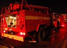 Загорание межэтажных перекрытий в жилом доме в садовом обществе «Морские» ликвидировали комсомольские огнеборцы