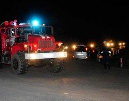 Пожарный расчет принимал участие в ликвидации последствий ДТП на проспекте 60 лет Октября в Хабаровске