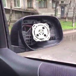 В Хабаровске продолжают орудовать похитители зеркал