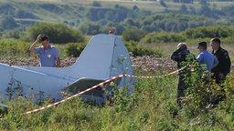 В пригороде Хабаровска аварийно совершил жесткую посадку самолет
