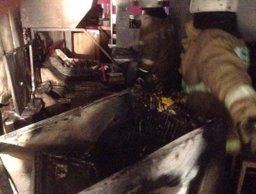 Загорание на кухне в квартире жилого дома в поселке Таёжном ликвидировали комсомольские огнеборцы