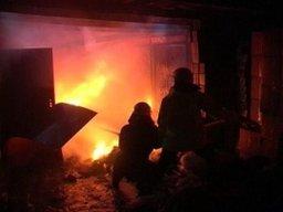 Менее 20 минут потребовалось огнеборцам для ликвидации пожара в гараже