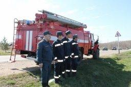 Силами Амурского спасательного центра МЧС России было ликвидировано возгорание в жилом многоквартирном доме в п. Таёжное